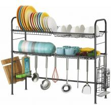 Over Sink Dish Drying Rack 2-Tier